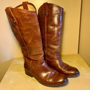 Frye Melissa Button Boots (extended calf)